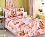 Детский комплект постельного белья Бамбино «Балерина»
